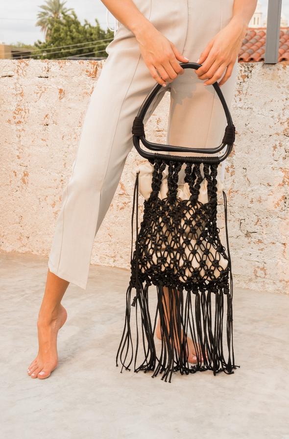 Bolsa tejida de Freymann Handmade