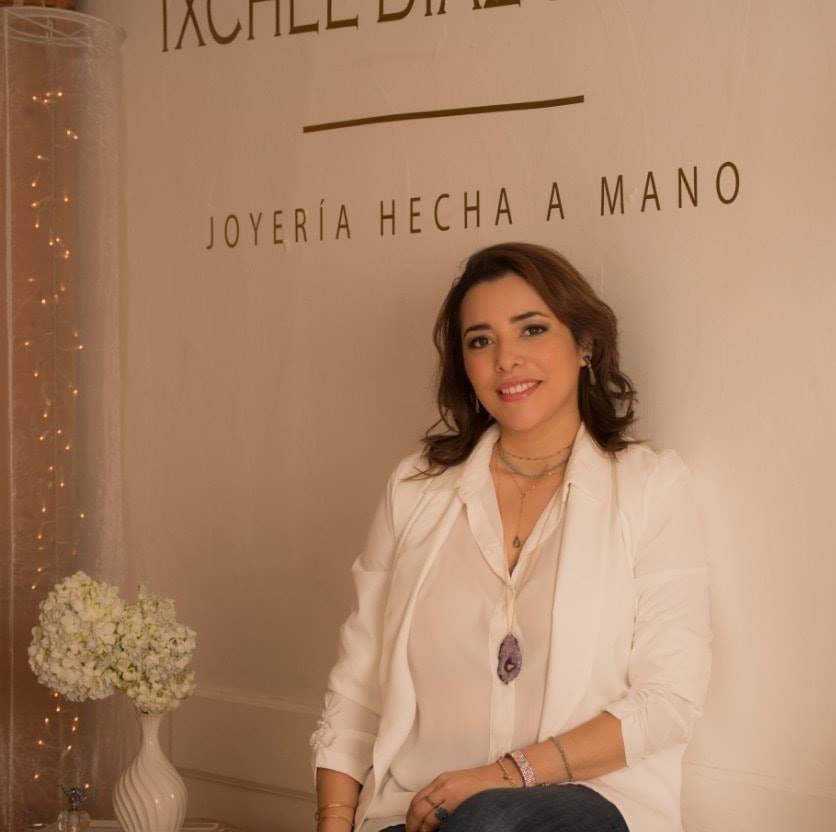 Diseñadora de joyería Ixchel Díaz