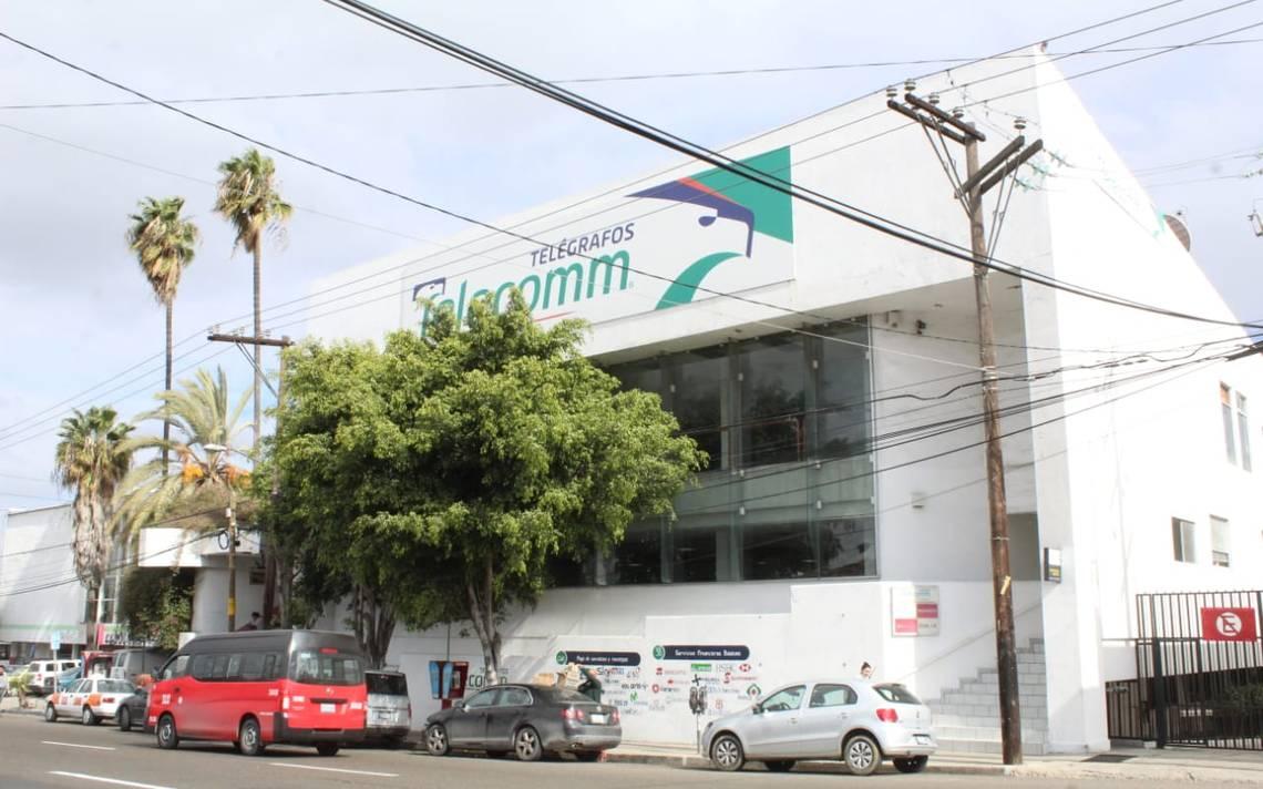 Fachada de oficina postal en Tijuana