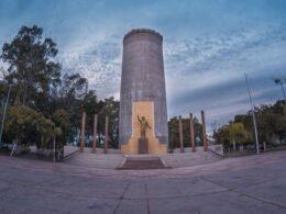 Plaza del Tinaco en Empalme, Sonora