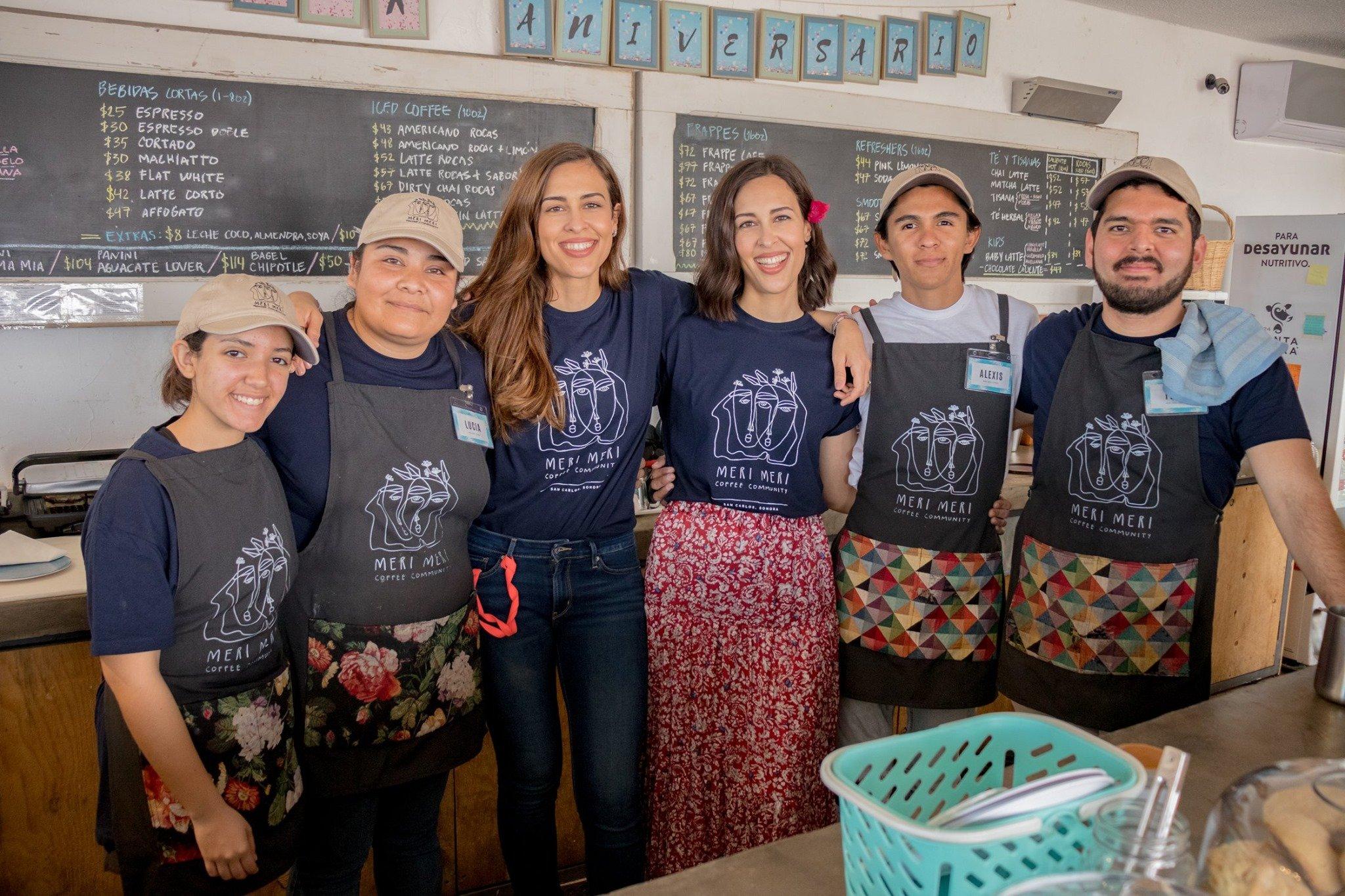 Equipo de cafetería Meri Meri Coffee Community
