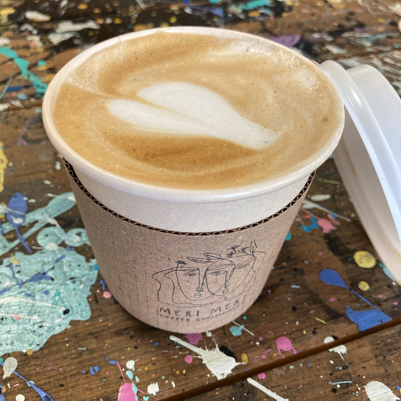 Flat white de cafetería Meri Meri