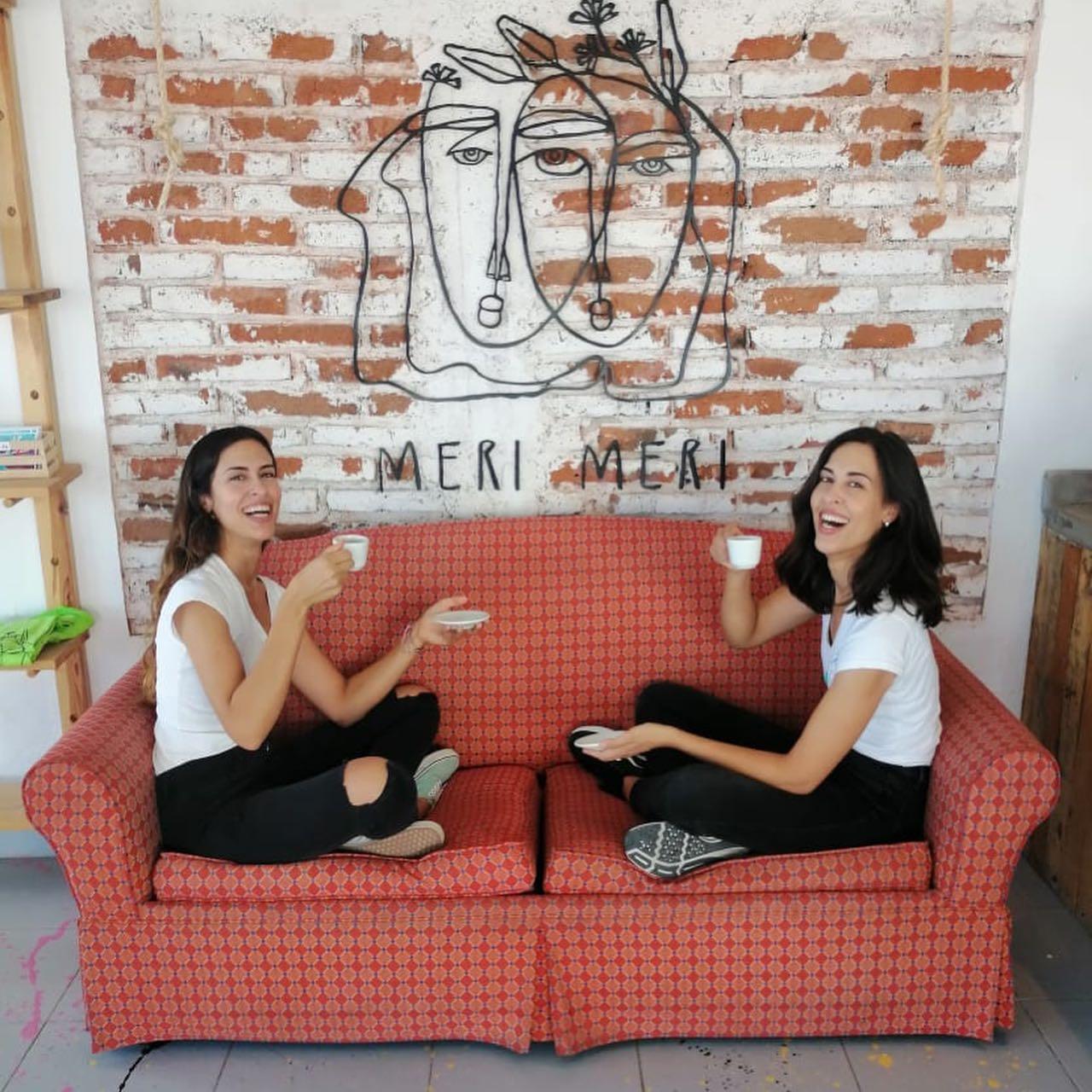 Hermanas fundadoras de Meri Meri Coffee Community.