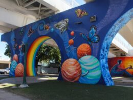 Mural nuevo en Bulevar Morelos,