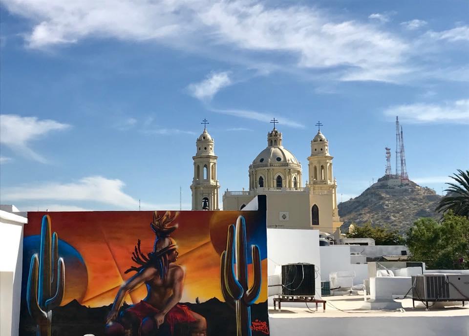 Mural al lado de catedral