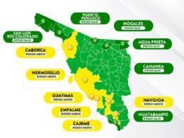 semáforo de riesgo amarillo epidémico por covid