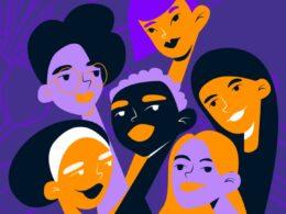 ilustración de mujeres