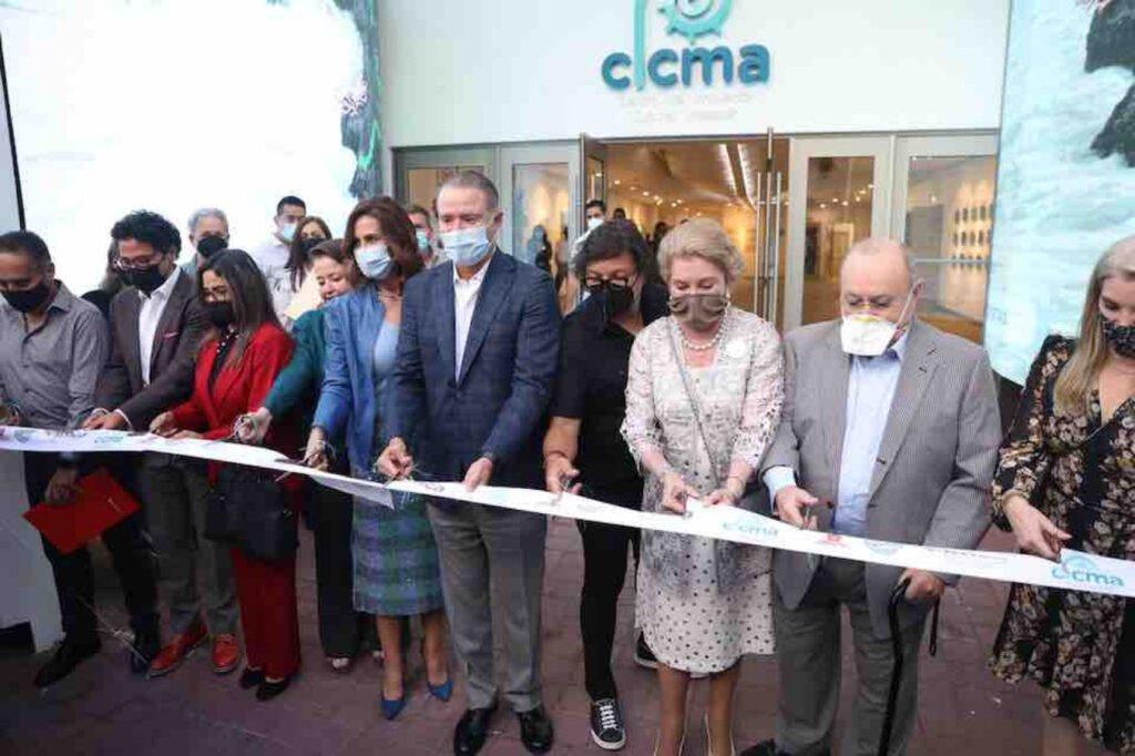 Autoridades estatales, municipales y empresarios, inauguran Centro de Innovación Cultural.
