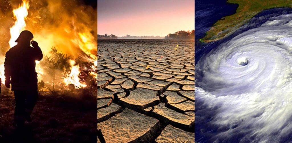 Efectos del cambio climático según informe de Organización Meteorológica Mundial.