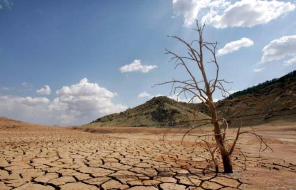 Sequía debido al cambio climático.