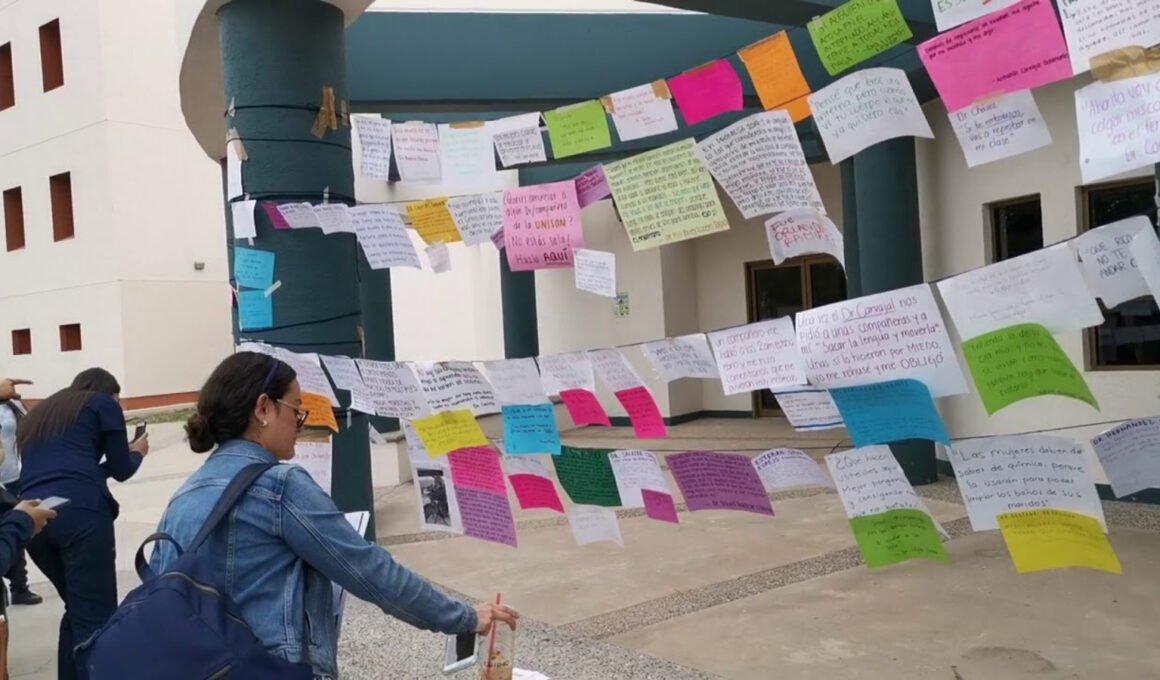 Denuncias anónimas de violencia de género en Unison
