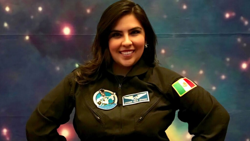 Astronauta análoga mexicana