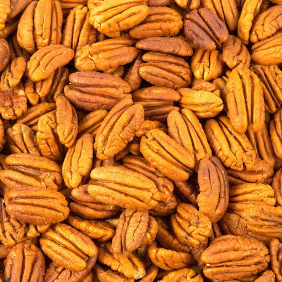 Variedad de nueces pecan color café. Chihuahua principal productor.