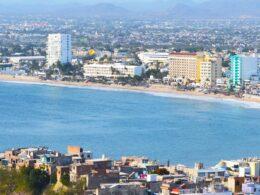 Zona hotelera de Mazatlán.