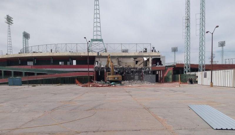 Inicio de remodelación de Estadio Héctor Espino con inversión del Gobierno Federal