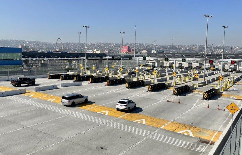 Frontera de Baja California y Estados Unidos de América