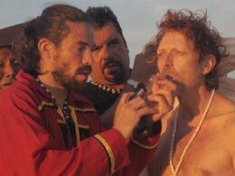Fumando Bufo alvarius en el desierto de Sonora