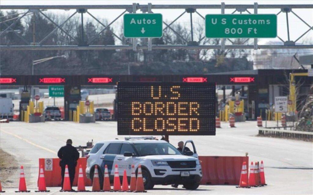 Estados Unidos mantienen cerrada la frontera.