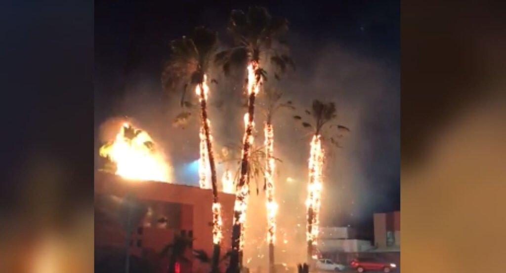 Incendio en Hermosillo