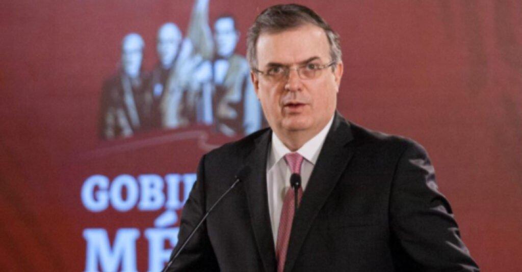 Marcelo Ebrard secretario de Relaciones Exteriores