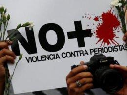 No más violencia contra periodistas
