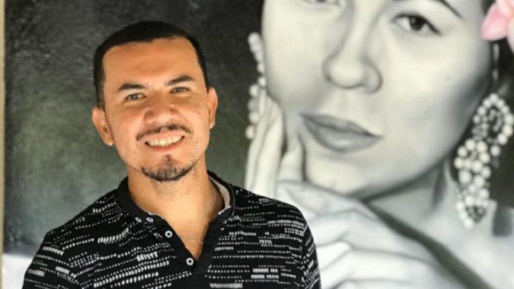 Sergio Ramírez, muralista sinaloense