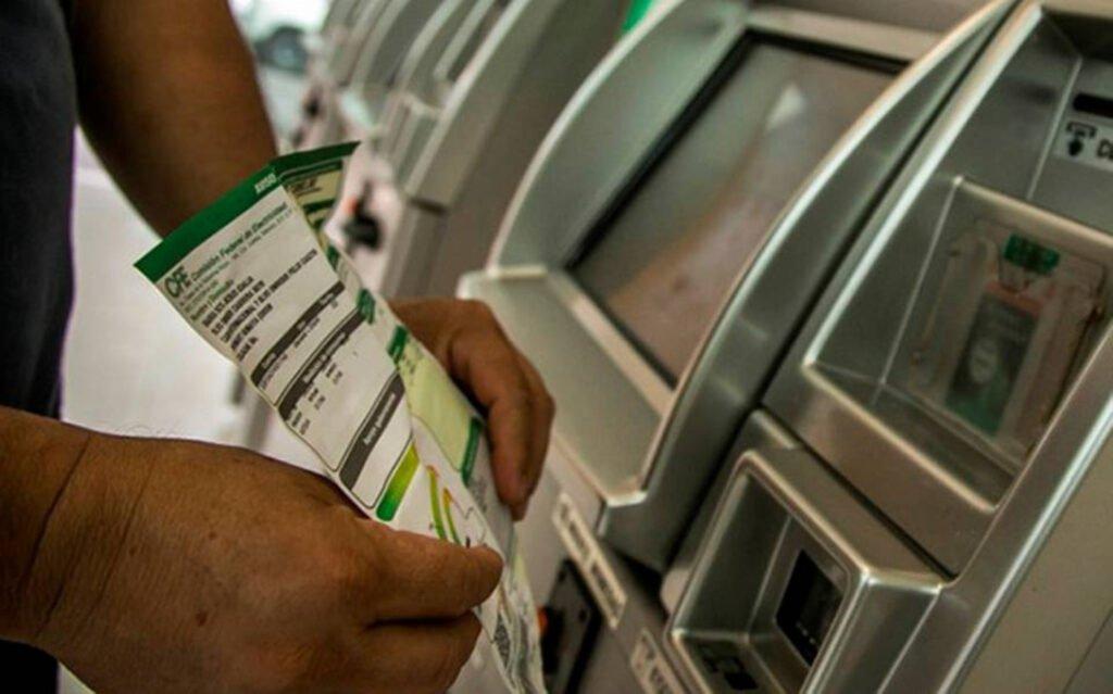 Pago de tarifa electrónica