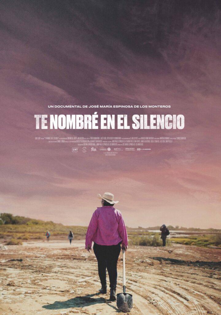 """Portada del documental """"Te nombré en el silencio"""""""