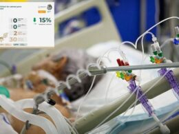 Pacientes con ventiladores.