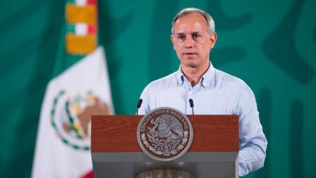 Subsecretario de salud Hugo López-Gatell Ramirez en conferencia para actualizar sobre situación por Covid. Chihuahua