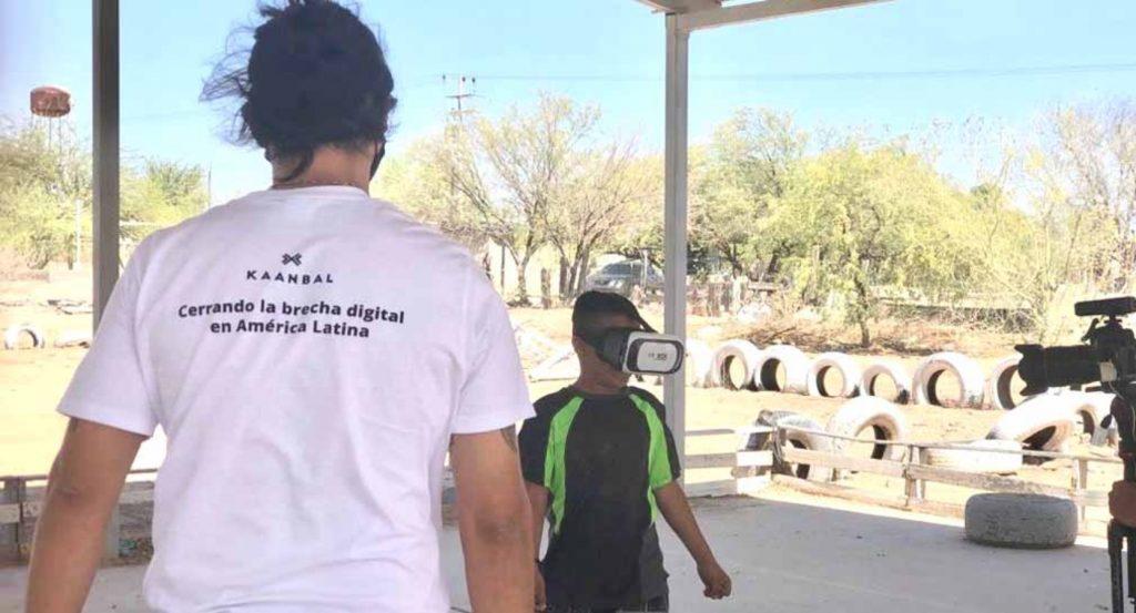 Fresnillo en Caborca cerrando brecha digital