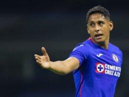 Luis Romo jugador del Cruz Azul