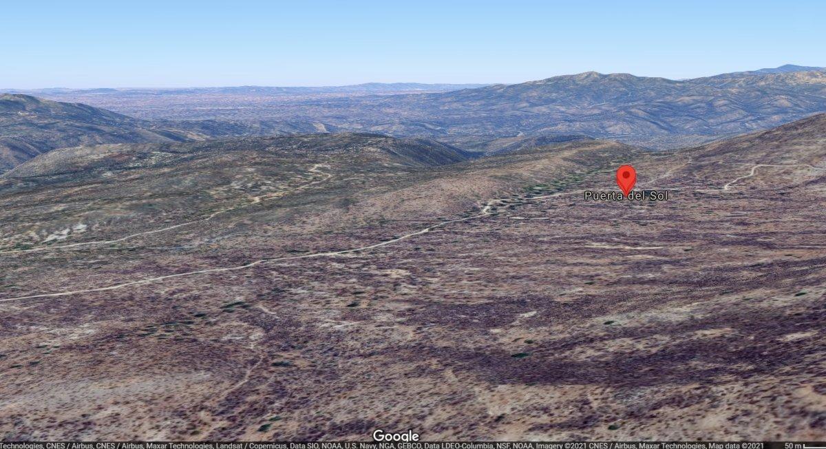 Geolocalización de Puerta del Sol en URes, Sonora