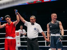 Boxeador Rogelio Romero