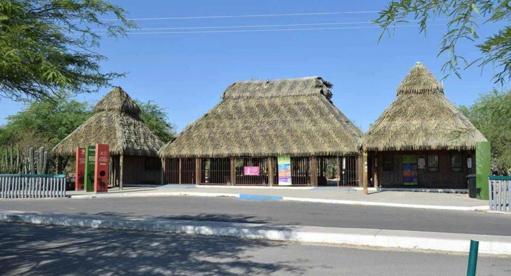 Entrada del Centro ecológico de Sonora
