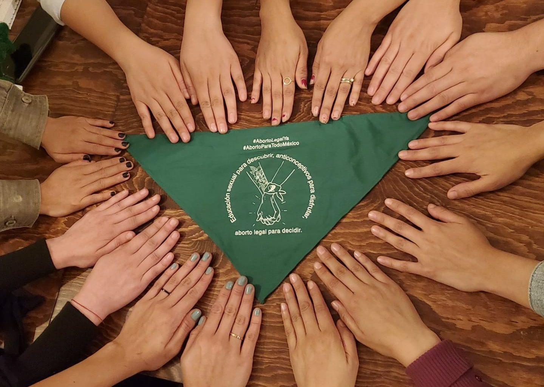 Colectivo de mujeres: Marea Verde Sonora