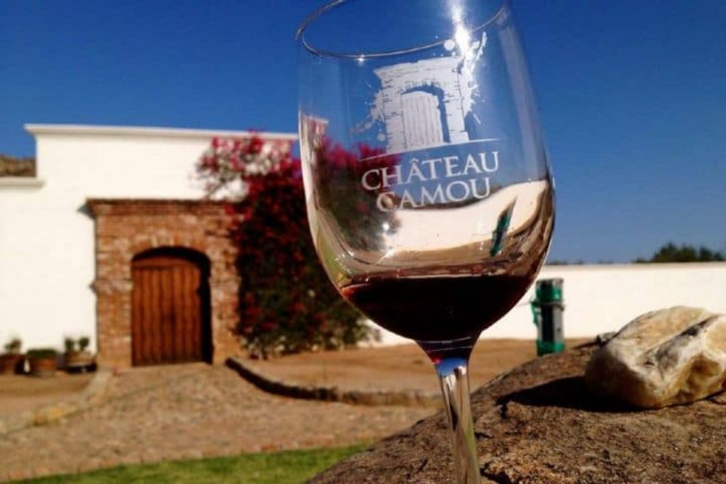 Copa de vino Chateau Camou