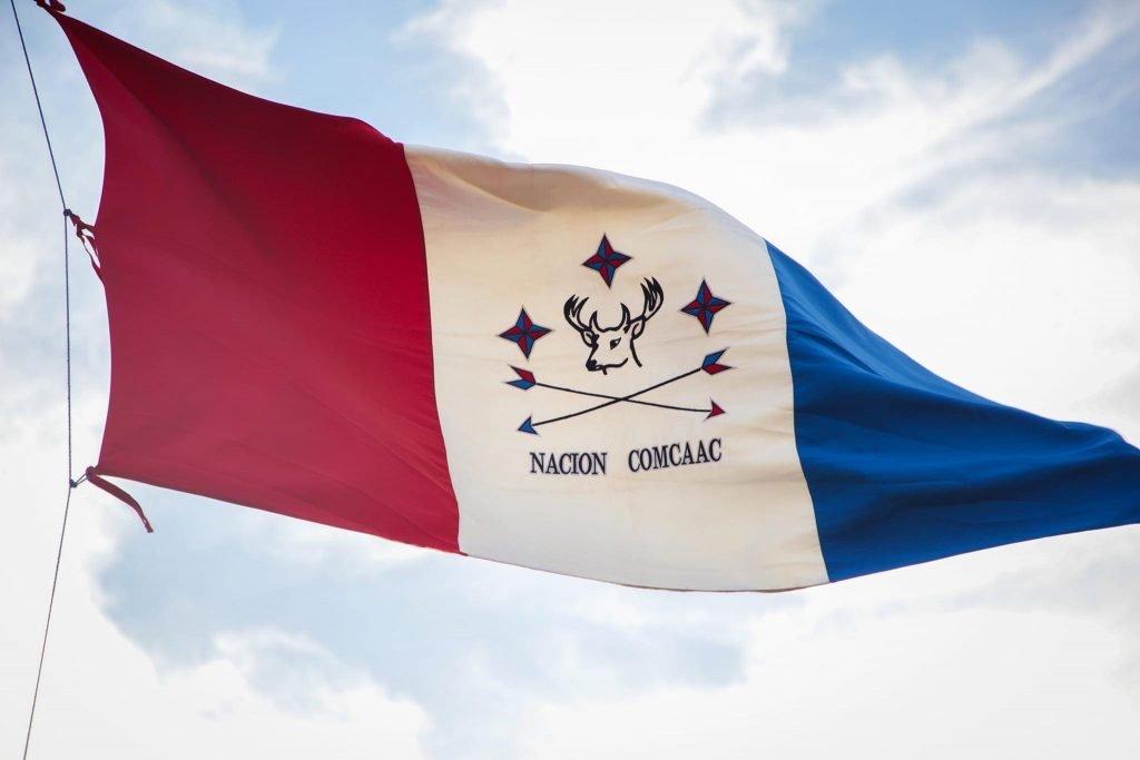 Año Nuevo Seri: bandera de Nación Comcáac