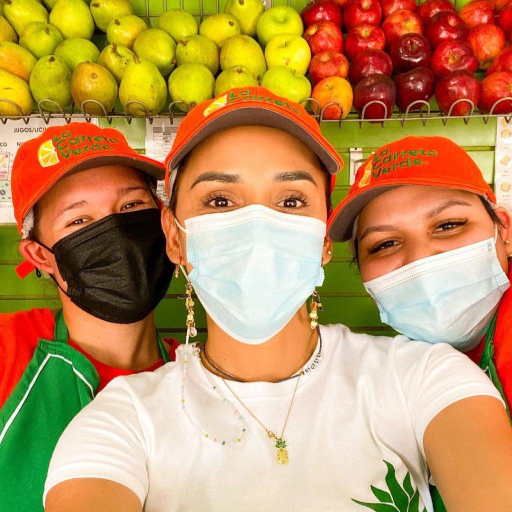 Trabajadoras de La Carreta Verde