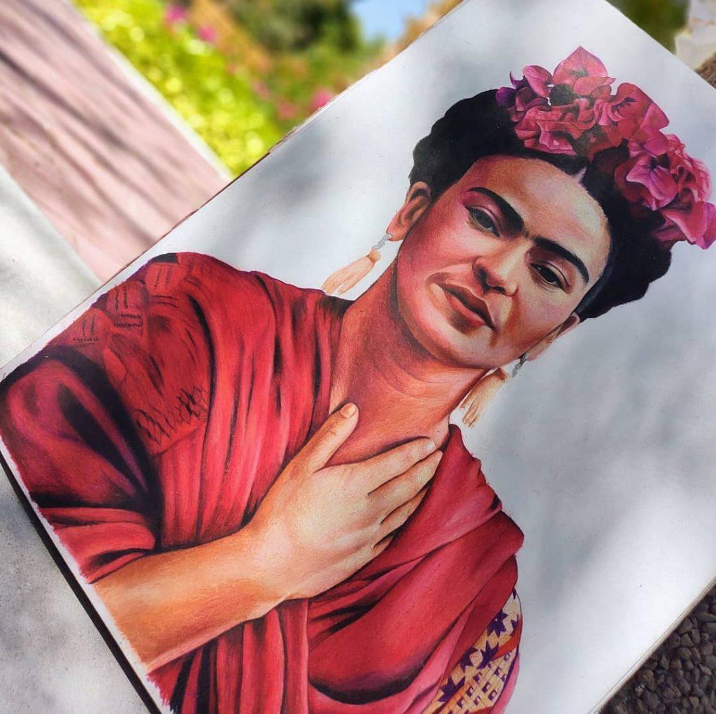 Frida Kahlo por Daniel Sombra