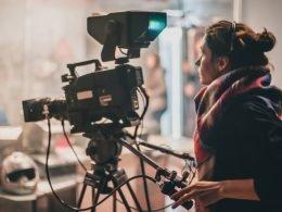 Grabacion de cortometrajes (detrás de cámaras)