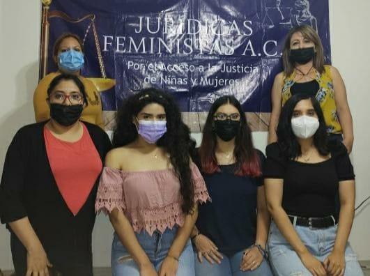 Mujeres parte de  Jurídicas Feministas A.C.