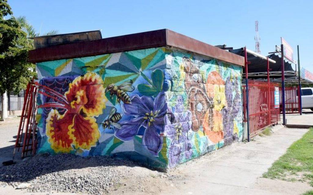 Mural del proyecto PaBLO en Hermosillo