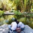 Pareja en el Jardín Botánico de Culiacán