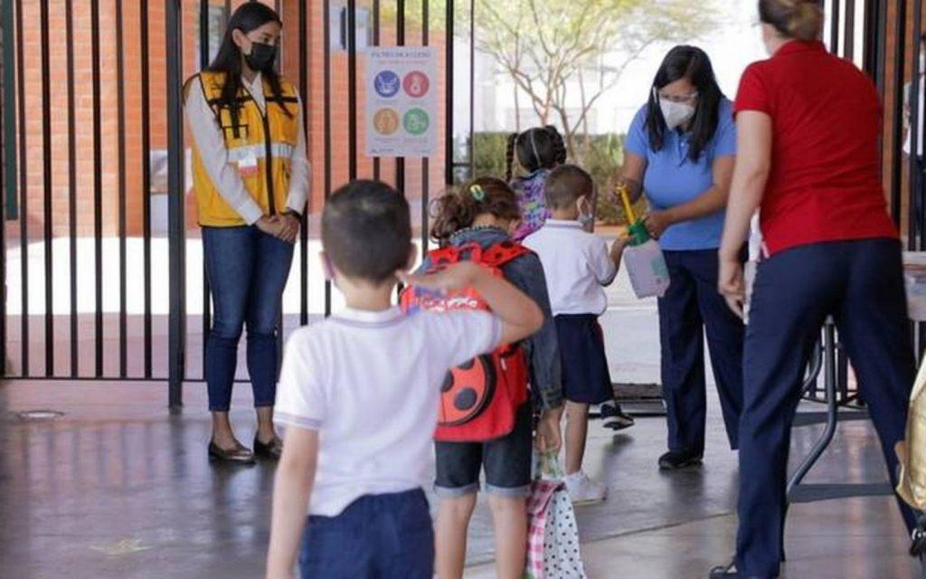 Protocolos sanitarios en escuelas