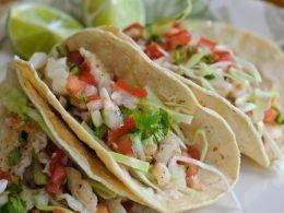 Tacos de pescado estilo Cajeme