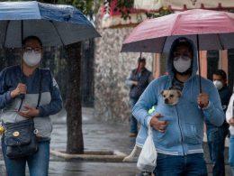 Lluvias en Sinaloa por 'Nora'