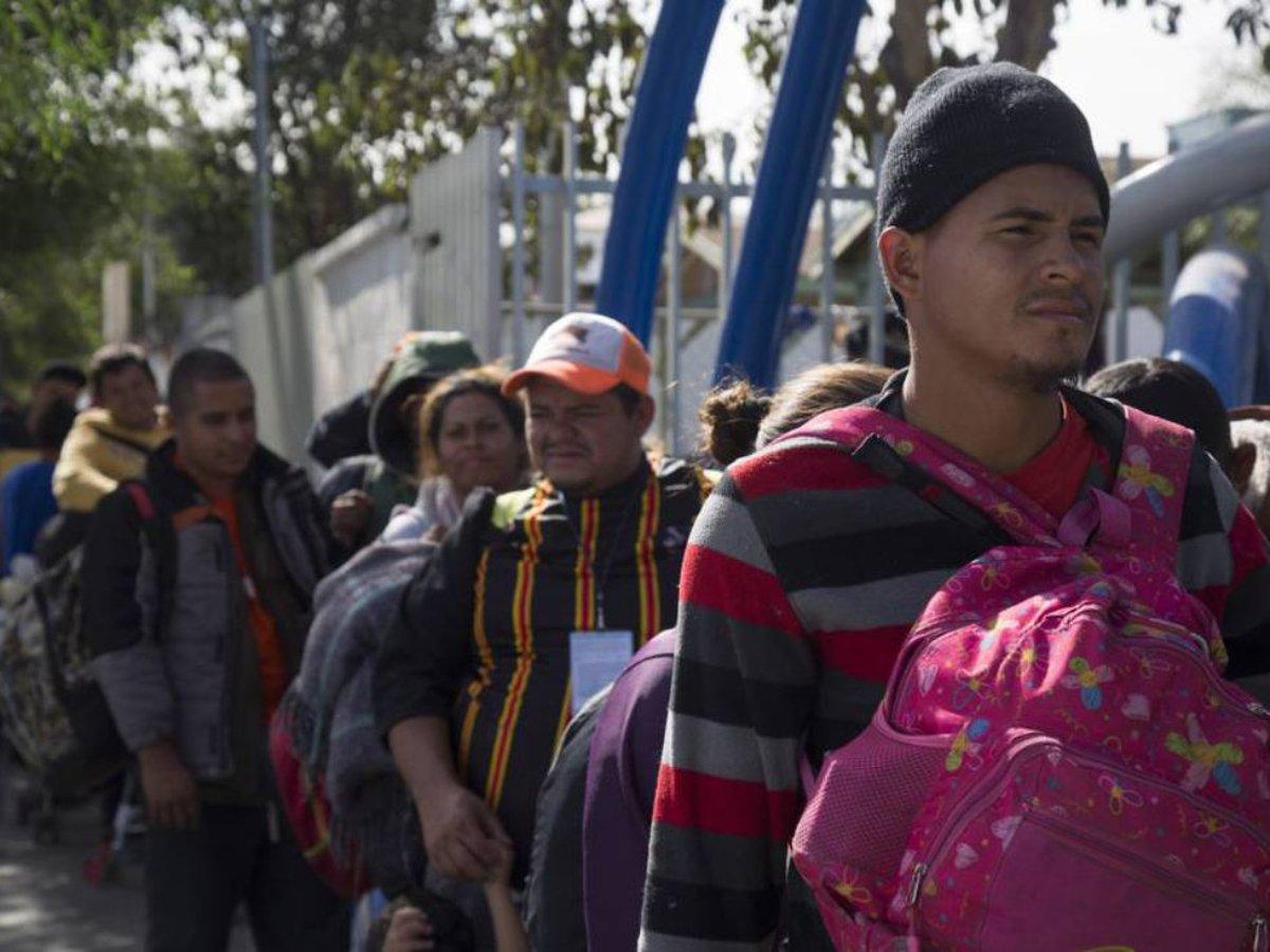 Migrantes de Tijuana