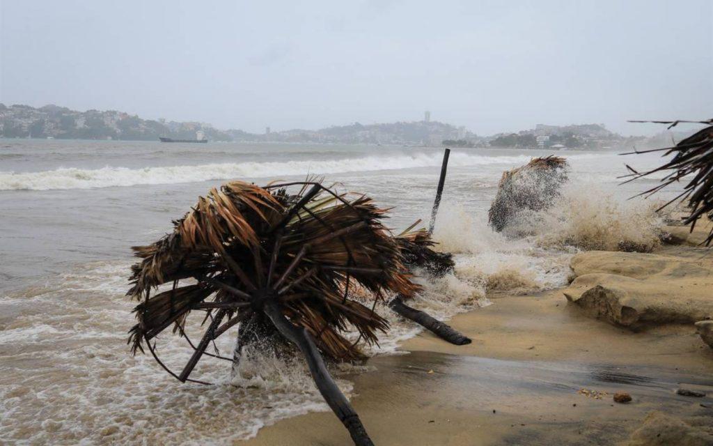 Tormenta tropical Nora se convierte en Huracán