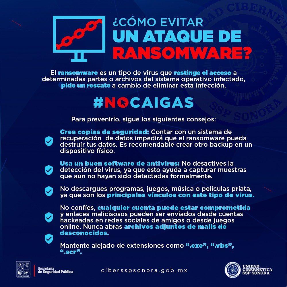 Post de Unidad Cibernética SSP Sonora